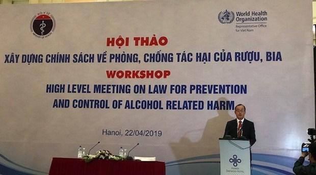 Indican que cada vietnamita consume mas de seis litros de bebidas alcoholicas por ano hinh anh 1