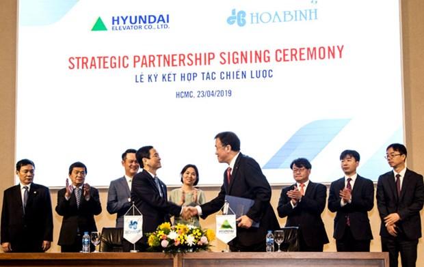Invierte empresa de Corea del Sur 25 millones de dolares en sector de la construccion de Vietnam hinh anh 1