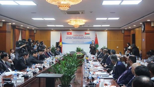 Destacan potencialidades de cooperacion comercial entre Vietnam y Oman hinh anh 1