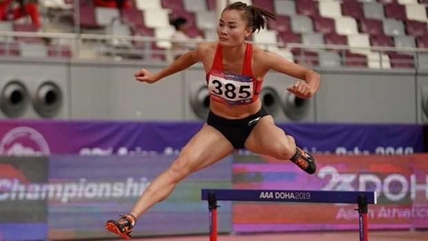 Gano corredora vietnamita medalla de oro en Campeonato Asiatico de Atletismo hinh anh 1