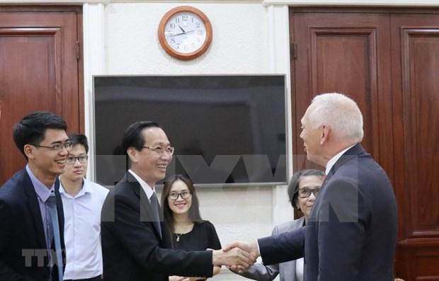 Provincia belga de Brabante Valon busca oportunidades de cooperacion con Ciudad Ho Chi Minh hinh anh 1