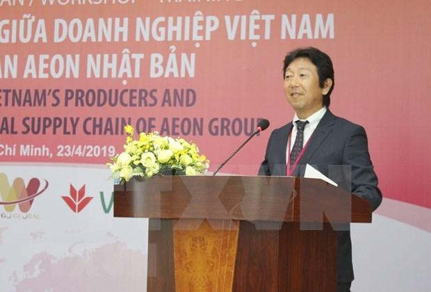 Promueven exportaciones vietnamitas a mercado japones a traves del grupo AEON hinh anh 1