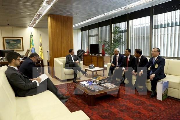Vietnam es socio confiable de Brasil, afirma vicepresidente de la nacion suramericana hinh anh 1