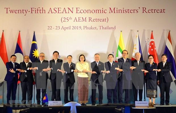 Participa Vietnam en la XXV Conferencia Ministerial de Economia de la ASEAN hinh anh 1