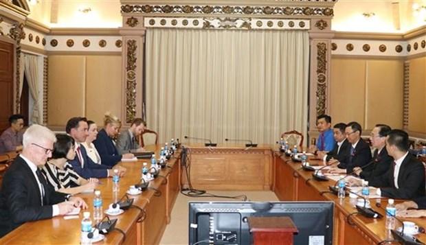 Promueven cooperacion entre Vietnam y Australia en agricultura y energia hinh anh 1