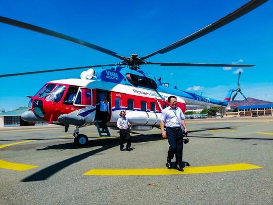Abren en Vietnam ruta aerea de helicopteros Vung Tau-Con Dao hinh anh 1