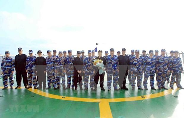 Realizan Vietnam y China inspeccion conjunta sobre la pesca en Golfo Bac Bo hinh anh 1