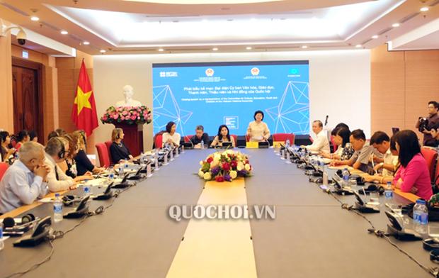 Promueven en Vietnam desarrollo de espacios culturales y creativos hinh anh 1