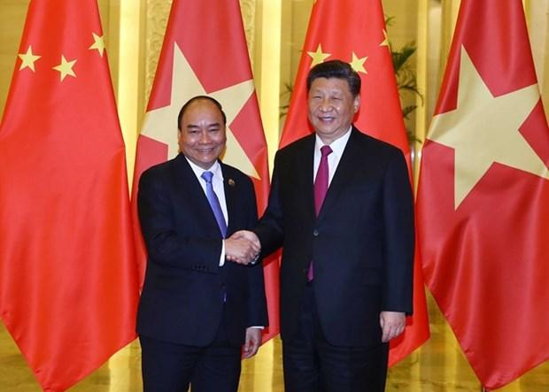 Ratifica premier de Vietnam respaldo a Iniciativa china de la Franja y la Ruta hinh anh 1