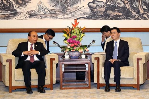 Vietnam concede importancia al desarrollo de nexos con China, confirma su primer ministro hinh anh 1