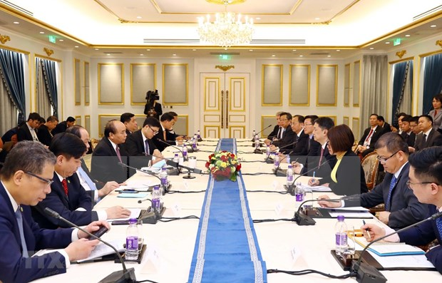 Premier vietnamita llama a inversiones de empresas chinas en infraestructura hinh anh 1