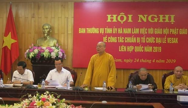 Vietnam acelera los preparativos para la celebracion del Dia de Vesak de las Naciones Unidas hinh anh 1