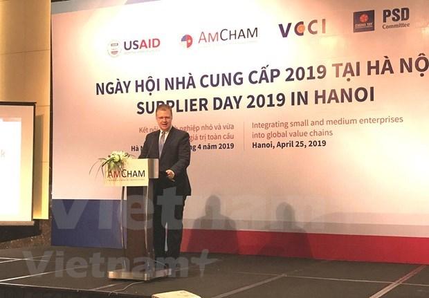 Amplian conexion comercial entre Vietnam y EE.UU. hinh anh 1