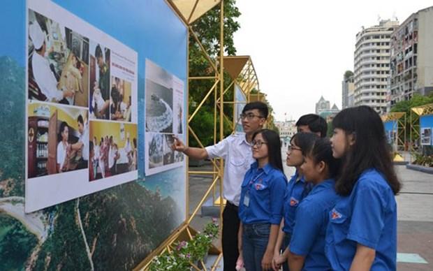 Exhibe Ciudad Ho Chi Minh logros tras 44 anos de su liberacion hinh anh 1