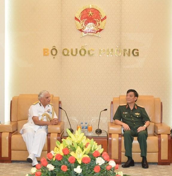 Intensifican cooperacion guardacostas de Vietnam y la India hinh anh 1