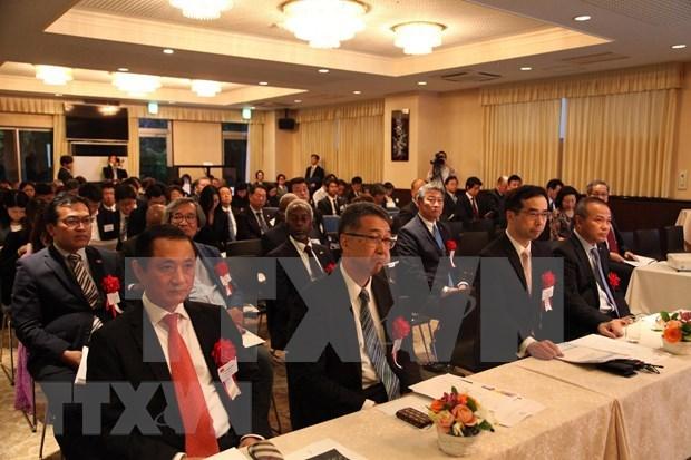 Preside Embajada de Vietnam en Japon Conferencia Asia-Africa hinh anh 1