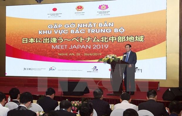 Dispuesto Vietnam a profundizar nexos de asociacion con Japon hinh anh 1