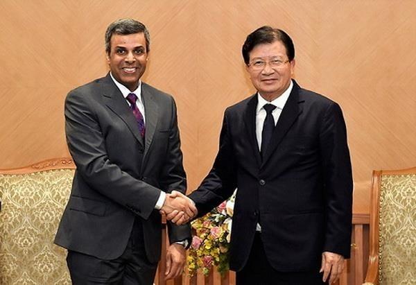 Vicepremier vietnamita llama a inversiones de Kuwait en proyectos de petroleo e infraestructura hinh anh 1