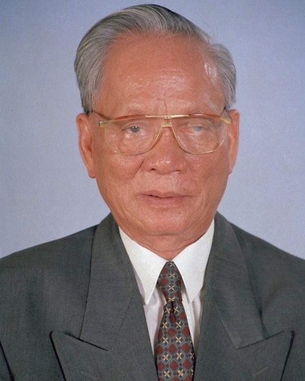 COMUNICADO ESPECIAL: Declara Vietnam duelo nacional por deceso de expresidente Le Duc Anh hinh anh 1