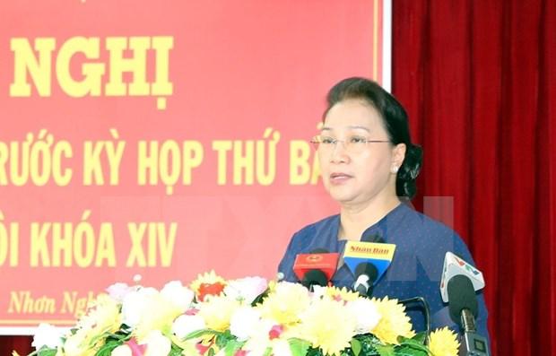 Presta Parlamento de Vietnam especial atencion a la adaptacion al cambio climatico hinh anh 1