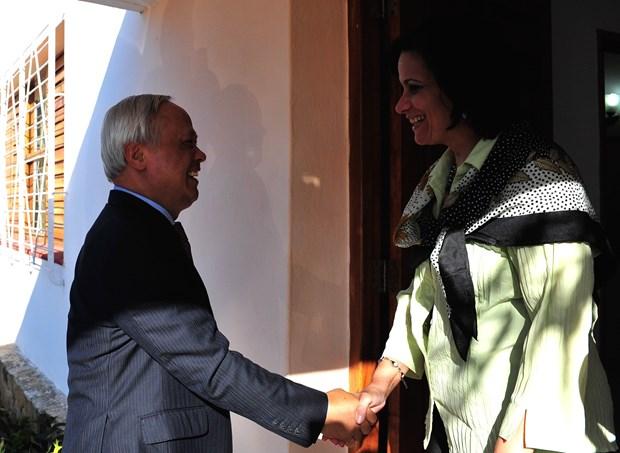 Parlamentos vietnamita y cubano reiteran disposicion de fortalecer cooperacion hinh anh 5