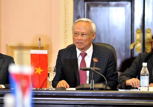 Parlamentos vietnamita y cubano reiteran disposicion de fortalecer cooperacion hinh anh 3
