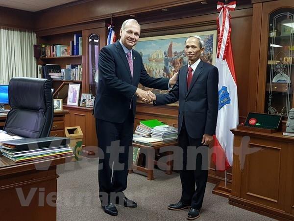 Vietnam y Paraguay fortalecen lazos de cooperacion hinh anh 1
