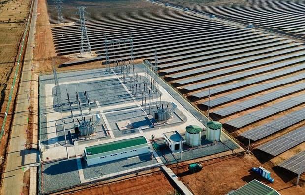 Inauguran en Vietnam mayor complejo de energia solar en el Sudeste Asiatico hinh anh 1