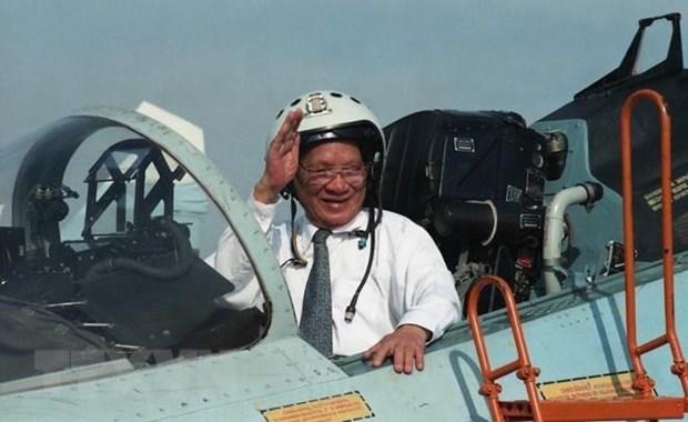 Expresan China, Laos y Camboya condolencias por deceso del expresidente vietnamita Le Duc Anh hinh anh 1