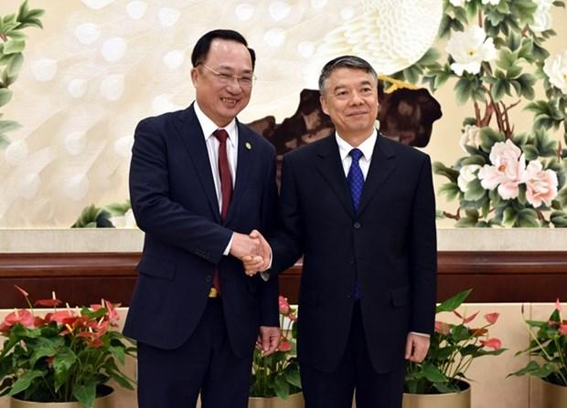 Viceministro vietnamita aboga por una cooperacion mas efectiva con China hinh anh 1