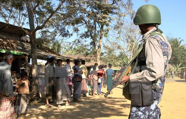 Myanmar aplasta intento de ataque de rebeldes contra oficina gubernamental hinh anh 1