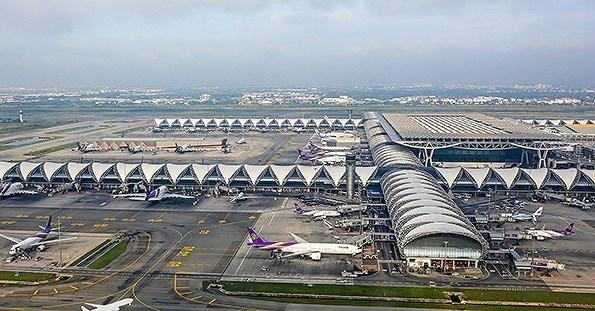 Construiran nueva pista de aterrizaje en aeropuerto tailandes Suvarnabhumi hinh anh 1