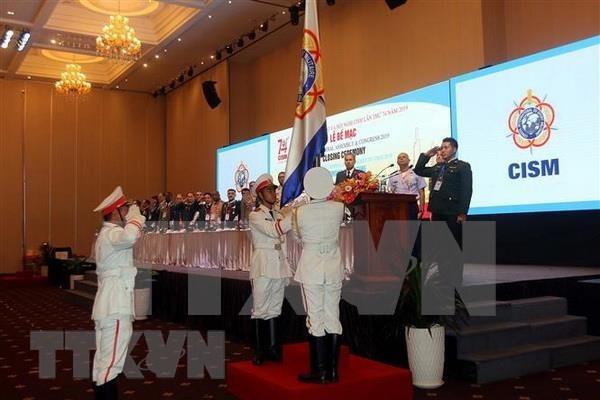 Concluyen Asamblea General del Consejo Internacional del Deporte Militar hinh anh 1