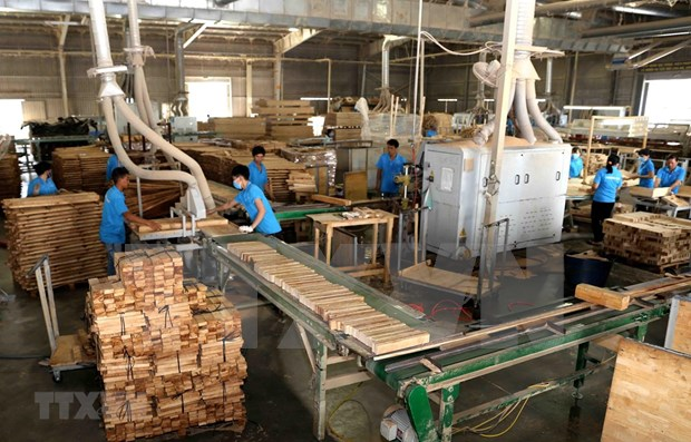 Exportacion de productos madereros de Vietnam aumenta 18 por ciento hinh anh 1