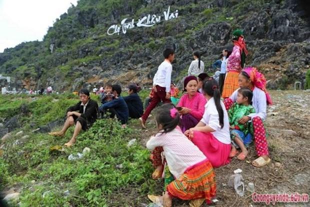 Abre centenario mercado de amor Khau Vai en provincia vietnamita de Ha Giang hinh anh 1