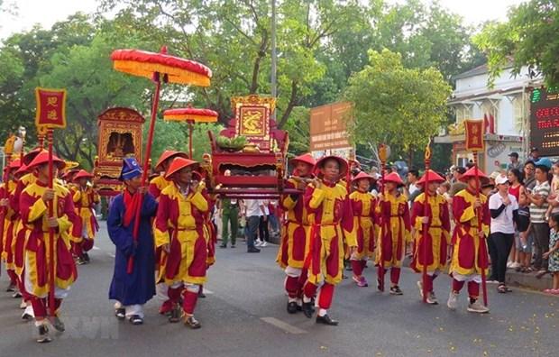 Festival en Hue honra a fundadores de oficios artesanos tradicionales de Vietnam hinh anh 1