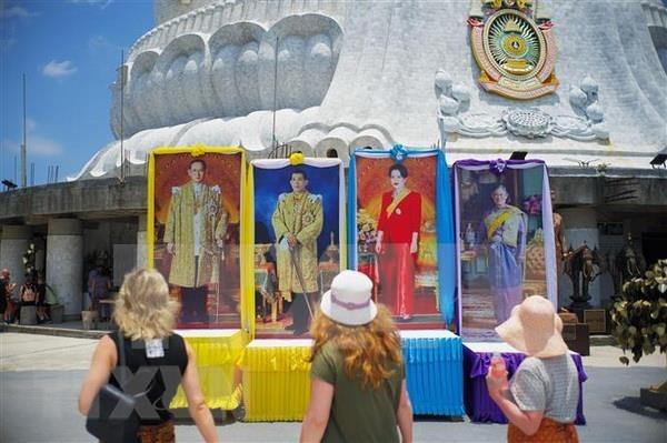Tailandia culmina labores preparatorias para la coronacion del rey Rama X hinh anh 1