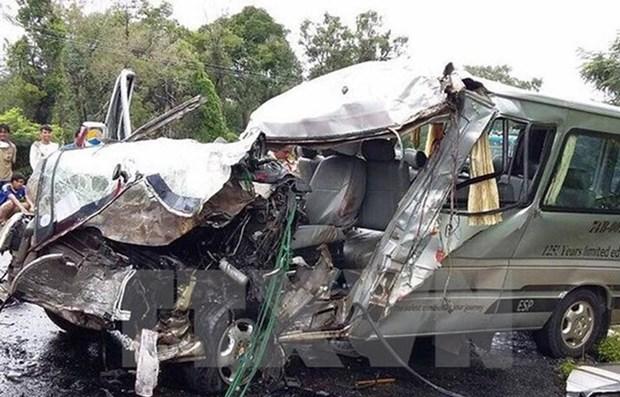 Registran casi 100 muertos por accidentes de trafico en dias feriados en Vietnam hinh anh 1