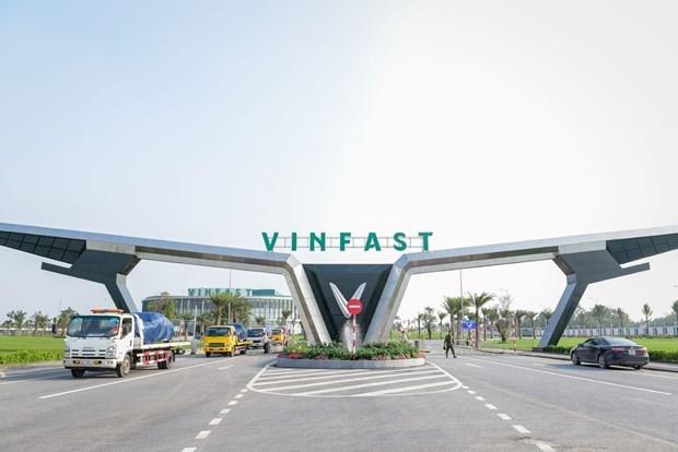 Ofrecera conglomerado vietnamita Vingroup servicio de autobuses electricos hinh anh 1