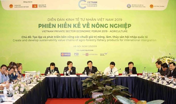 Proponen en Vietnam soluciones para el desarrollo sostenible de agricultura hinh anh 1