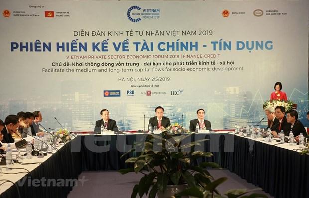 Buscan en Vietnam garantizar suministro de recursos financieros al sector privado hinh anh 1