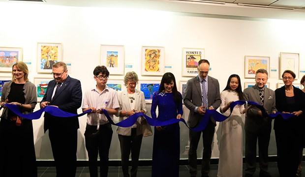 Celebran Festival de Libros Europeos en tres ciudades de Vietnam hinh anh 1