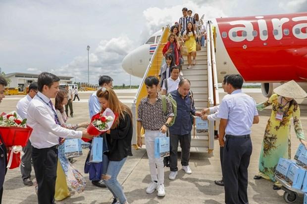 Linea aerea malasia lanza la nueva ruta Can Tho - Bangkok hinh anh 1
