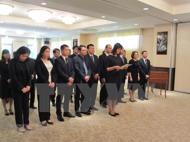 Rinden en Japon homenaje postumo al expresidente vietnamita Le Duc Anh hinh anh 1