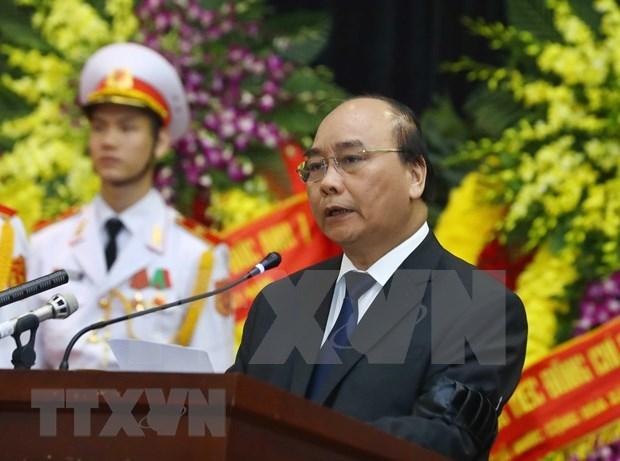 Homenaje postumo al expresidente de Vietnam Le Duc Anh hinh anh 1