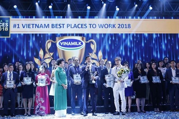 Empresa lactea Vinamilk, mejor lugar para trabajar en Vietnam en 2018 hinh anh 1