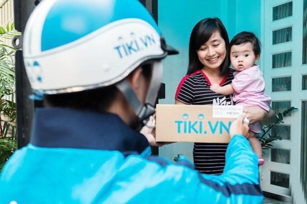 Mas de 30 millones de vietnamitas compran en linea hinh anh 1