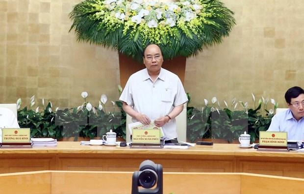 Gobierno de Vietnam analiza situacion socioeconomica en primer cuatrimestre de 2019 hinh anh 1