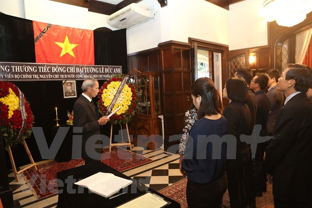 Abren en Argentina libro de condolencias en honor al expresidente vietnamita Le Duc Anh hinh anh 1