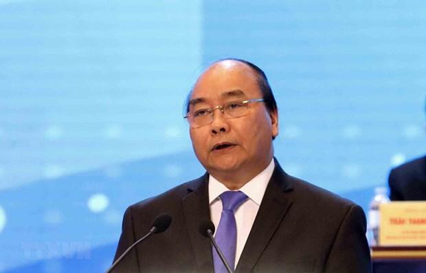 Premier vietnamita dialogara con empleados del sector de la alta tecnologia hinh anh 1